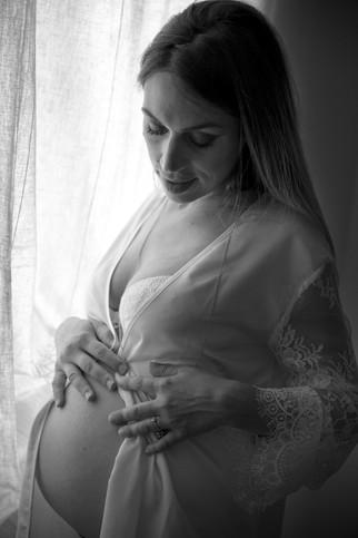 Book fotografico maternità e nascita