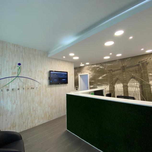 ristrutturazione ingresso uffici