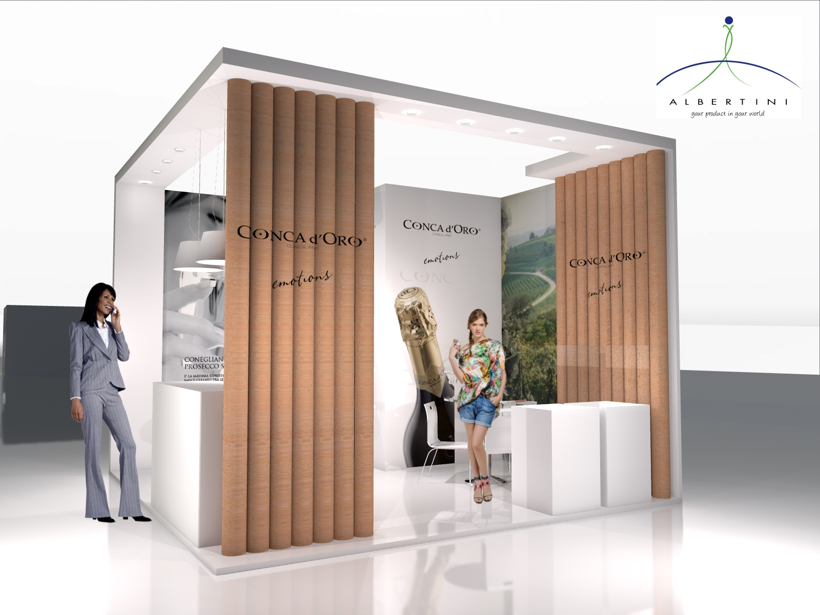 stand vinitaly 4x4 m