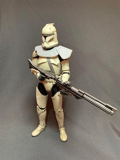 Clone commander pauldron