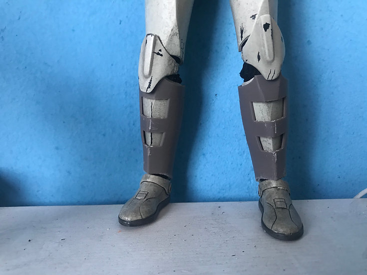 ARC trooper shin guards Kit