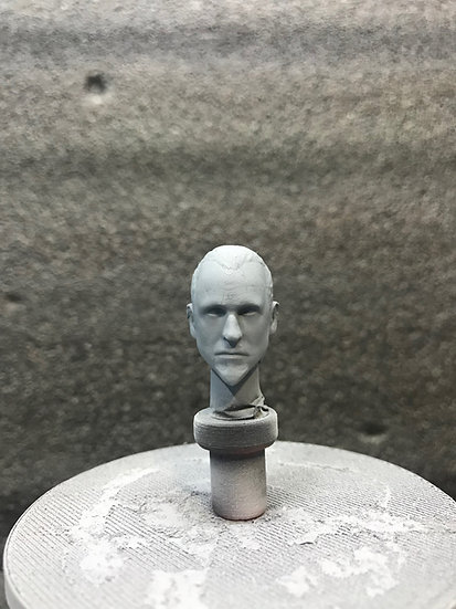 Jedi General Rahm Kota headsculpt