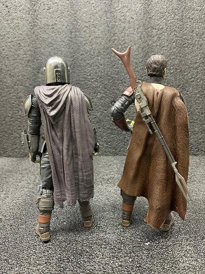 "Leather Robe ""Mandalorian"""