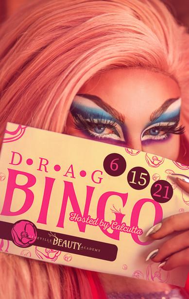 Drag Bingo with Calcutta in Downtown Asheville