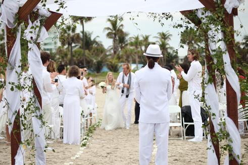 Beach Wedding Ceremony