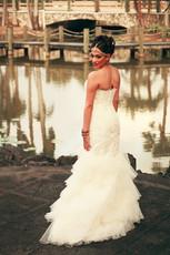 White Hindu Wedding Dress