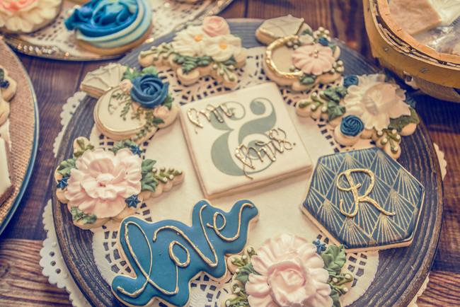 Custom Wedding Cookies