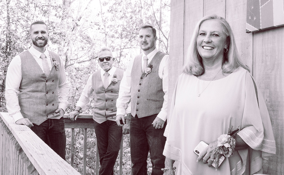 Elizabeth and Luke's Wedding Photography in East Tennessee