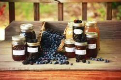 Homemade Homegrown Jams & Jellies