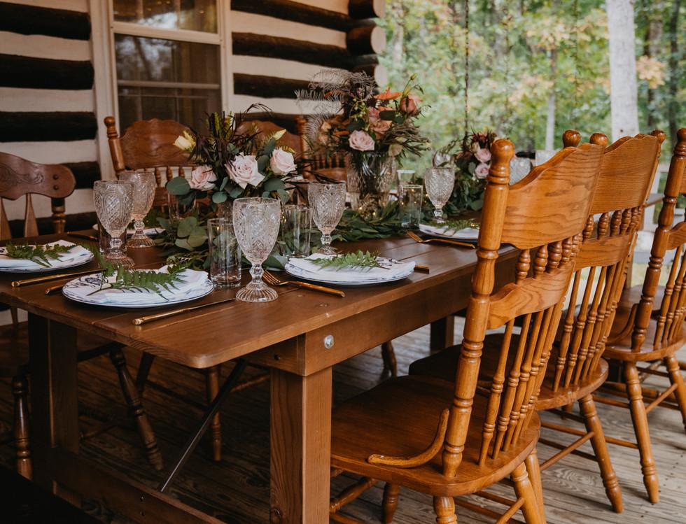 Wedding Reception Dinning Set Up