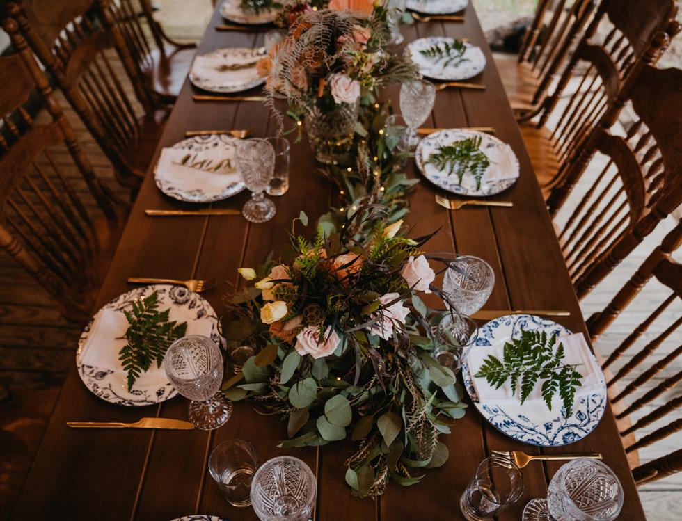 Wedding Reception Table Decor