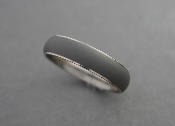 Titanium Domed Oxidized