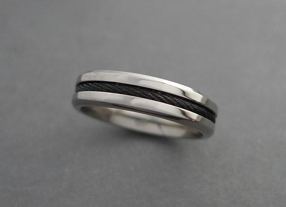 Titanium with Carbon Fiber