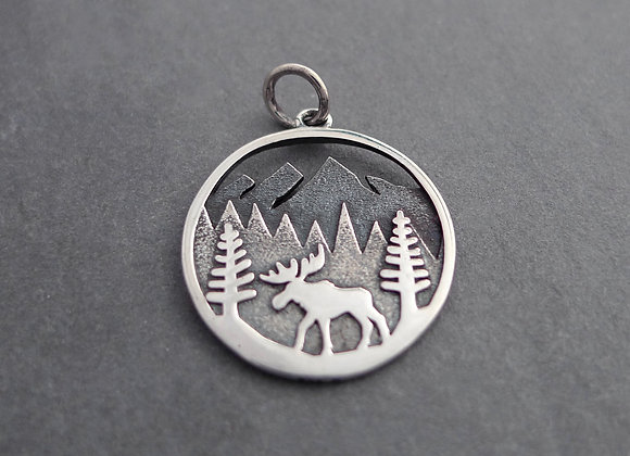 Moose in Forest