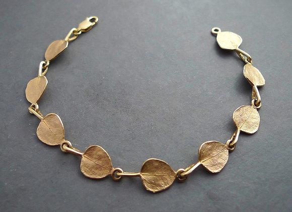 Aspen Leaf Link Bracelet