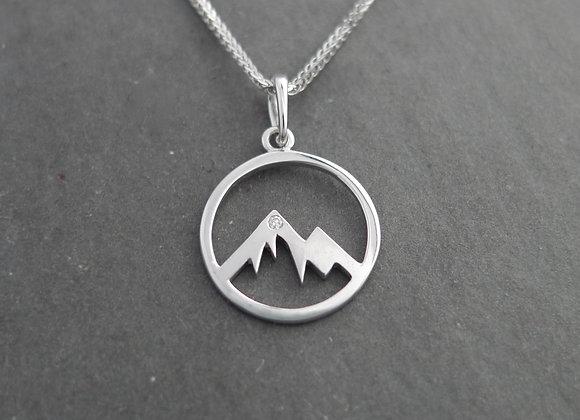 Round Mountain Silhouette