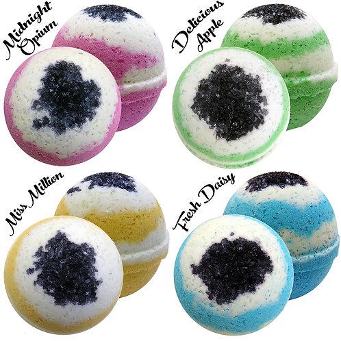 4 Perfume Inspired Bath Bombs
