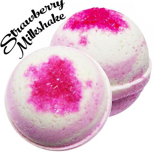 Strawberry Milkshake Bath Bomb