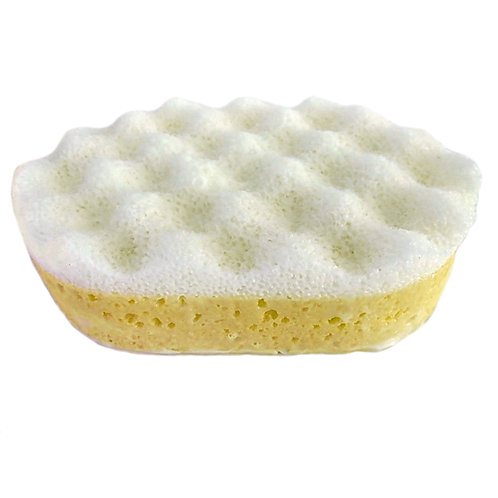 Massaging Soap Sponge - Cocoa Butter and Shea