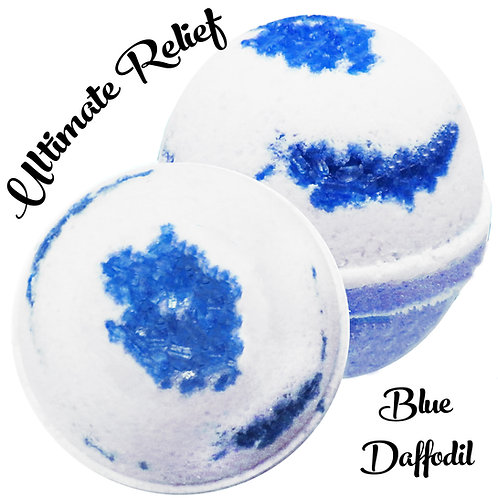Ultimate Relief Bath Bomb - Blue Daffodil