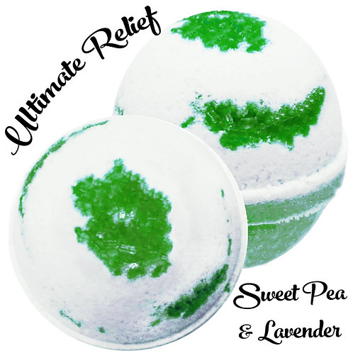 Ultimate Relief Bath Bomb - Sweet Pea & Lavender
