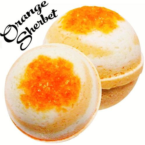 Orange Sherbet Bath Bomb