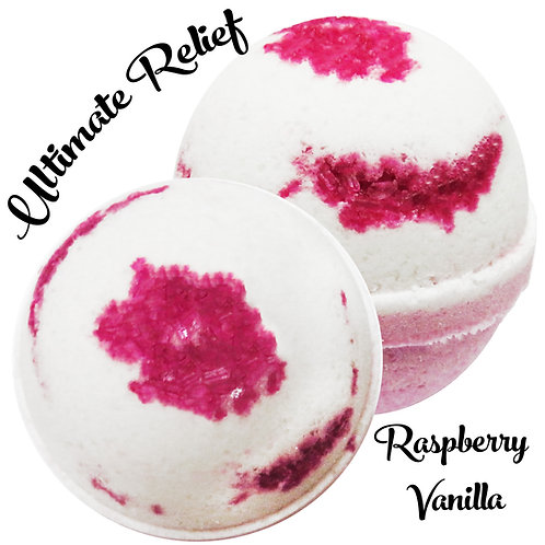 Ultimate Relief Bath Bomb - Raspberry Vanilla
