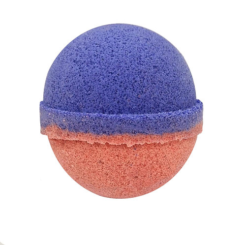Colour Burst Bath Bomb - Plum & Rhubarb