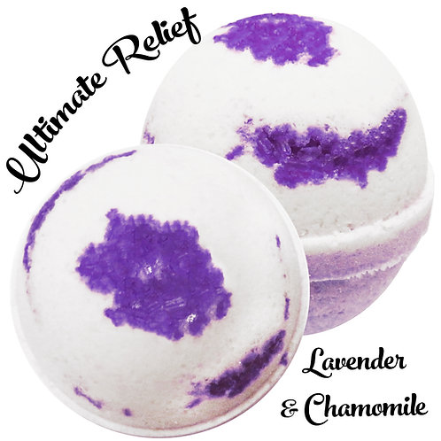 Ultimate Relief Bath Bomb - Lavender & Chamomile