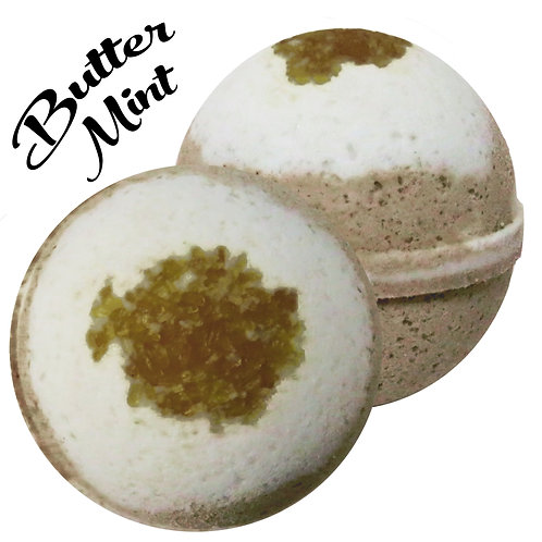 Butter Mint Bath Bomb