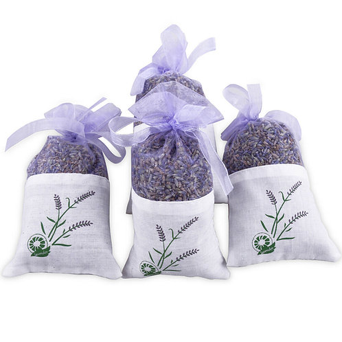 Dried Lavender Flower Pouch