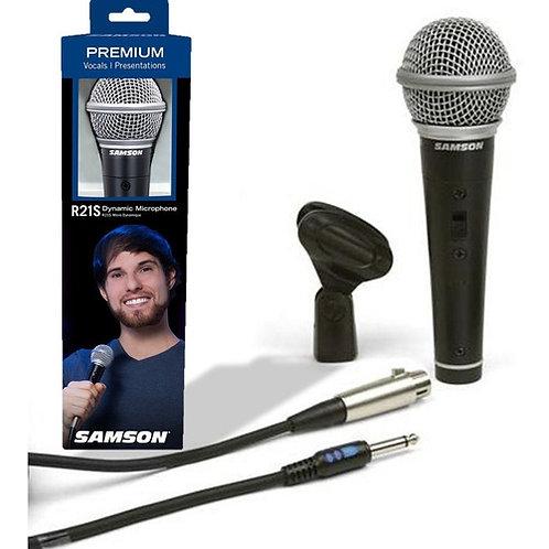 Microfono SAMSON Dymanico de Switch CSRM R21S