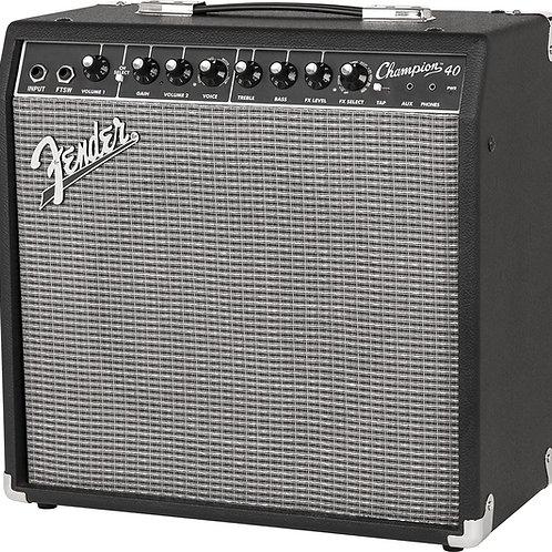 Amplificador 40W Fender AM Champion p/Guitarra Electrica