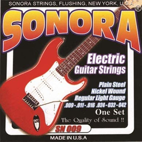 Cuerda SONORA SN009 p/ Guitarra Eléctrica 042