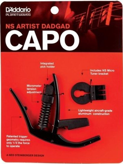 Capodastro D'ADDARIO NS ARTIST