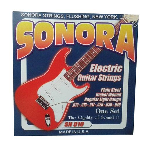 Cuerda SONORA SN010 p/ Guitarra Eléctrica