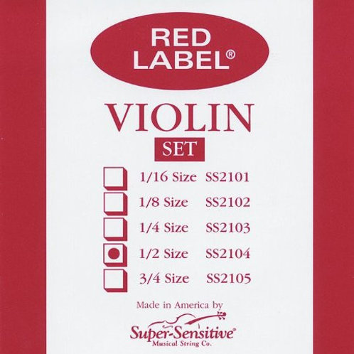 Cuerda RED LABEL 1/2 para Violín
