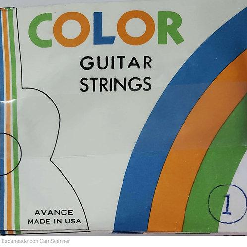 Cuerda Nylon Color