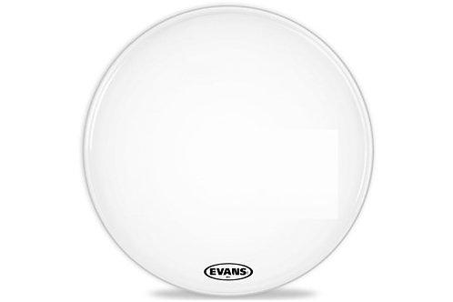 "Pergamino 22"" Evans MX1 White para bombo"