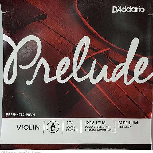 Cuerda PRELUDE D'ADDARIO 2a para Violín 1/2