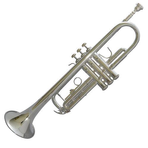 Trompeta JP LE JUNE Niquelada c/ estuche y Boquilla