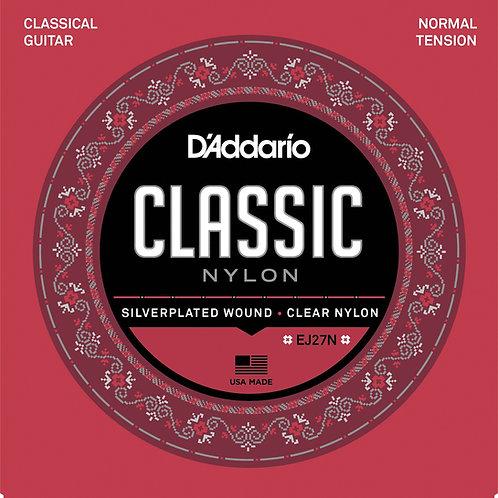 Cuerda D'ADDARIO Nylon p/ Guitarra Clásica J27
