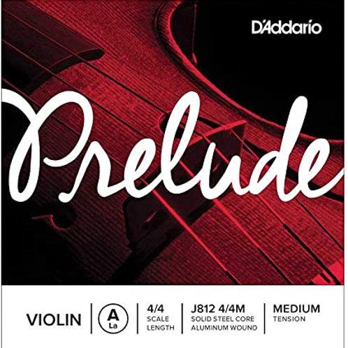 Cuerda PRELUDE D'ADDARIO 2a para Violín 4/4
