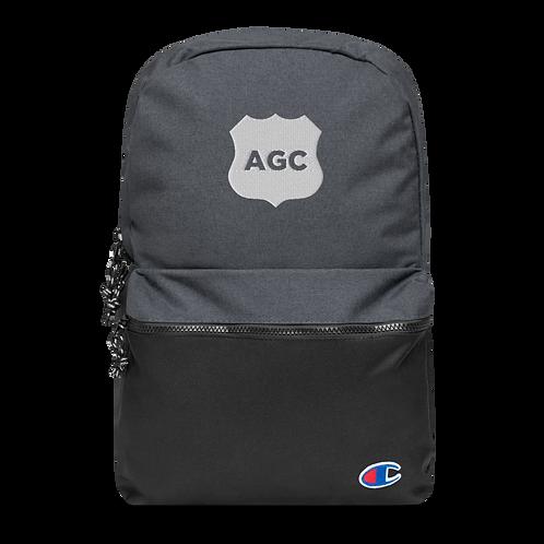 AGC Champion Logo Backpack