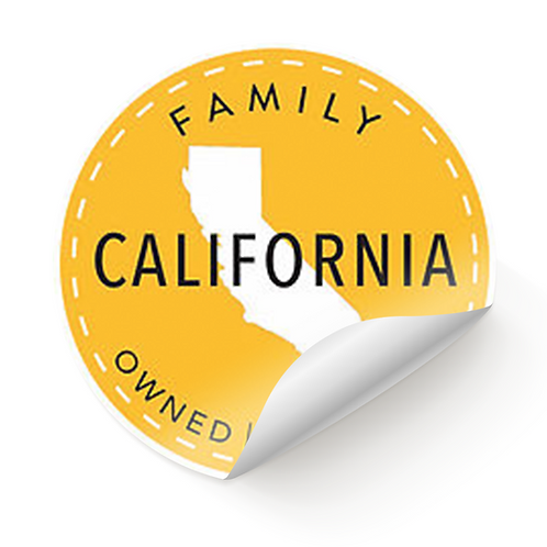 """AGC """"Family Owned and Operated"""" Sticker"""