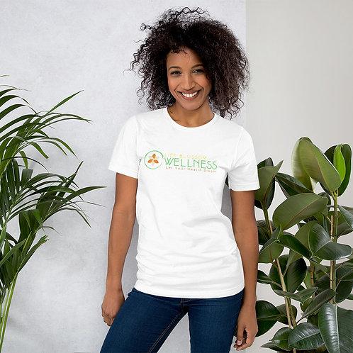 Life Blossom Wellness Short-Sleeve Unisex T-Shirt