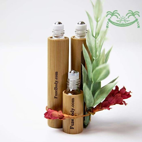 Calm - Just Chill - Wood Roll-On Pure Essential Oils
