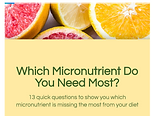 Micronutrient Quiz