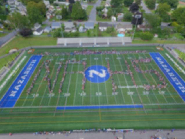 Nazareth football field