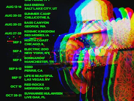 New festival dates!